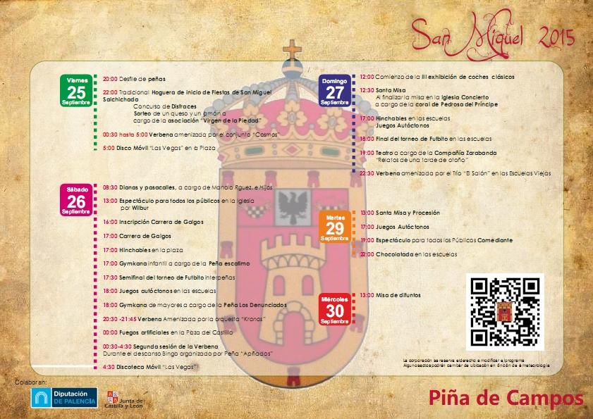Fiestas San Miguel 2015